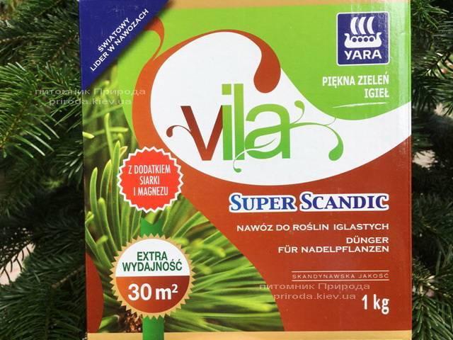 Комплексное минеральное удобрение для хвойных растений Yara Vila (Яра Вила), Yara (Яра) (Кемира), Норвегия, 1 кг