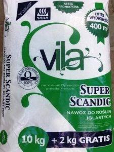 Комплексное минеральное удобрение для хвойных растений Yara Vila (Яра Вила), Yara (Яра) (Кемира), Норвегия, 12 кг (4)