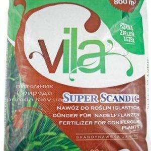 Комплексное минеральное удобрение для хвойных растений Yara Vila SUPER SCANDIC (Яра Вила Супер Скандик), Yara (Яра) (Кемира), Норвегия, 25 кг