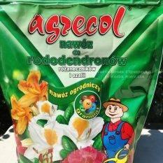 Высококачественное гранулированное многокомпонентное удобрение Agrecol (Агрекол) для рододендронов, азалии и других вересковых растений